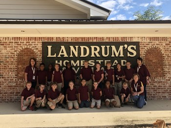 Clara 3rd Graders recently visited Landrum's Country located in Jones County.
