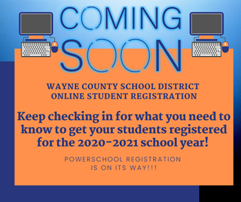 Online registration Coming Soon