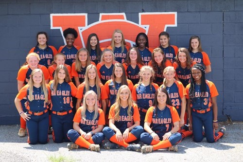 WC Lady War Eagles Softball 2019