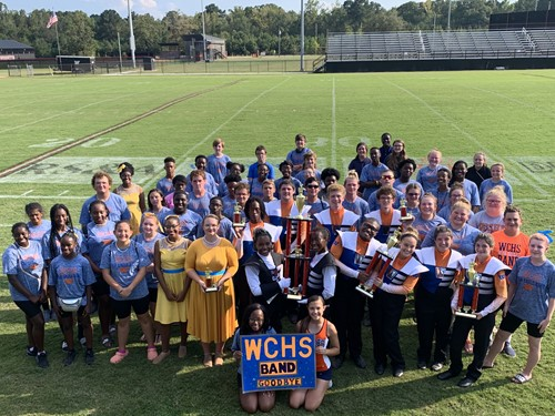 WCHS Marching Band Awarded