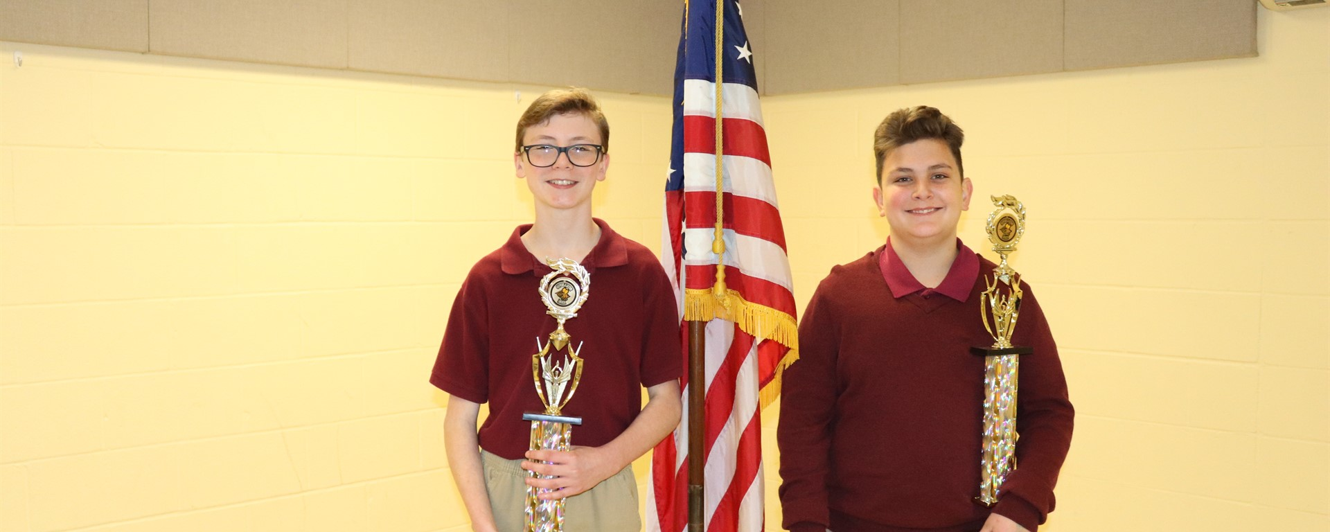 Clara School Students place 1st and 2nd in Wayne County District Spelling Bee