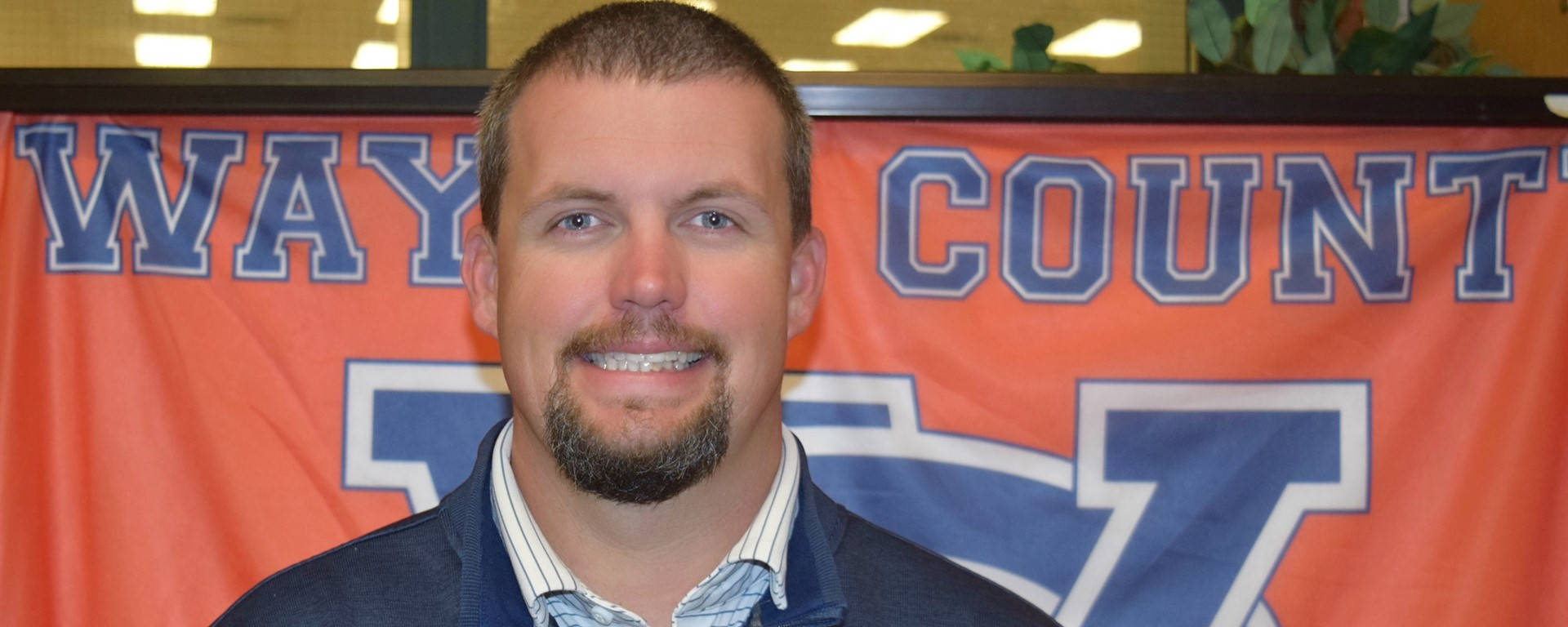 Ian Sharp named Wayne County High School Teacher of the Year