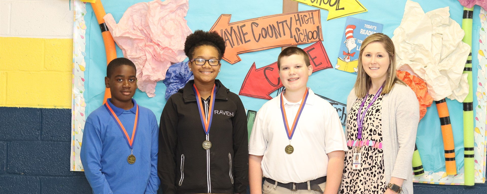 Buckatunna's 6th Grade Math Meet Participants (2nd Place in District)