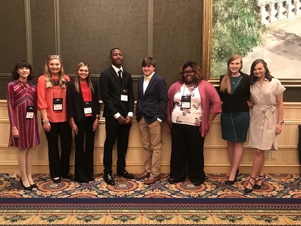2019 MS FBLA State Leadership Conference Attendees