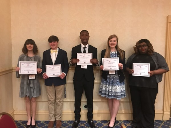 2019 MS FBLA State Competition Placements