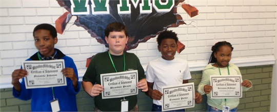 Students of the Week 2015-2016