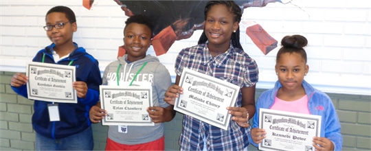 2015-2016 Students of the Week