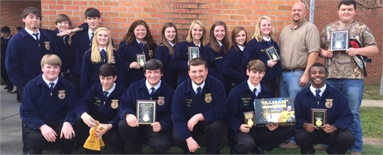 FFA District winners 2015