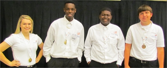 Skills USA State 2015 winners -  Information Technology