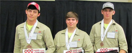 Skills USA State 2015 winners - Welding