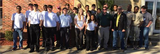 Skills USA Regional Competition participants