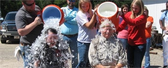 Career Center supports Ice Bucket Challenge