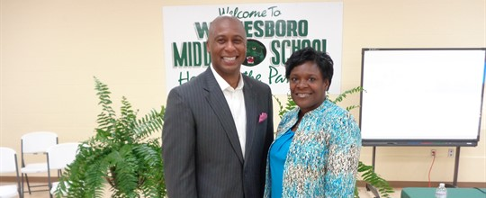 Dr. Sam Jones and Mrs. Turner