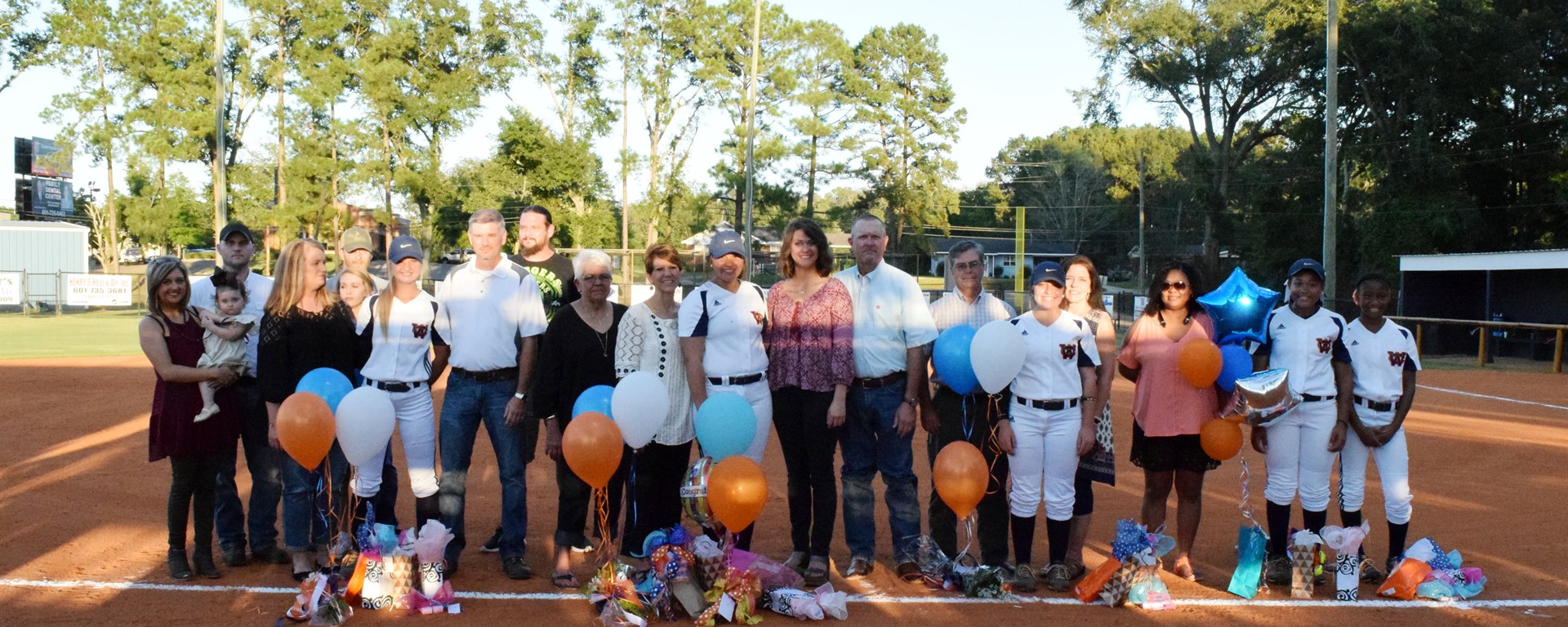 WCHS Slow-Pitch Softball Seniors Honored