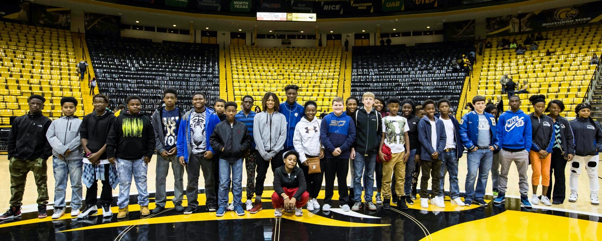 Buckatunna Basketball Team Visits USM