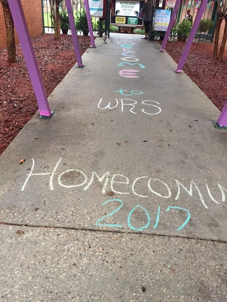 Homecoming Sidewalk
